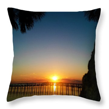 First Rise Throw Pillow