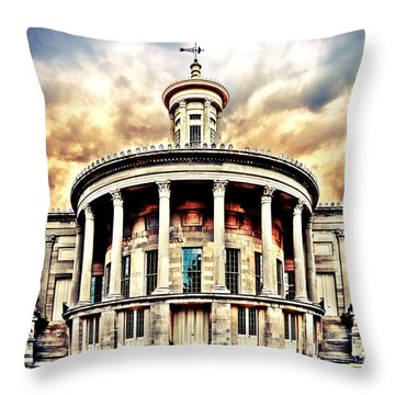 First Stock Exchange Throw Pillow