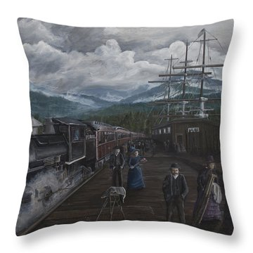 Sunday's Best Throw Pillow by Stefan Kaertner