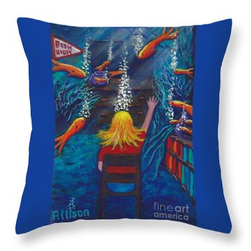 Fish Dreams Throw Pillow