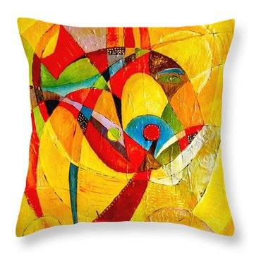 Fish II - Marucii Throw Pillow