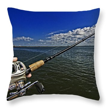 Fish On Throw Pillow