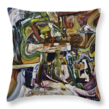 Fish Supper Throw Pillow