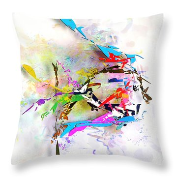 fish XXIV - marucii Throw Pillow