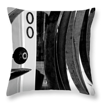 Fishbone Throw Pillow