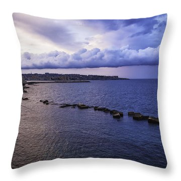 Fisherman - Sicily Throw Pillow by Madeline Ellis