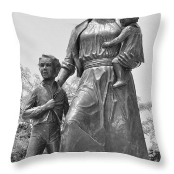 Fishermen's Wives Memorial Throw Pillow by Caroline Stella