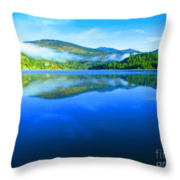 Fishing Spot 5 Throw Pillow by Greg Patzer
