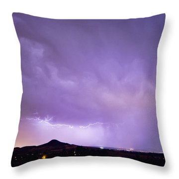 Fist Bust Of Power Throw Pillow by James BO  Insogna