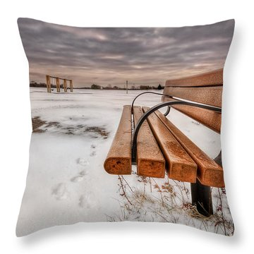 Fistful Of Silence Throw Pillow