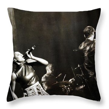 Fitz And The Tantrums Noelle Scaggs Throw Pillow