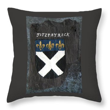 Fitzpatrick Throw Pillow by Barbara McDevitt
