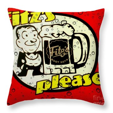 Fitz's Please All Wet Throw Pillow