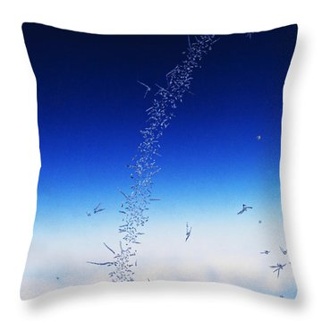 Five Miles High Throw Pillow