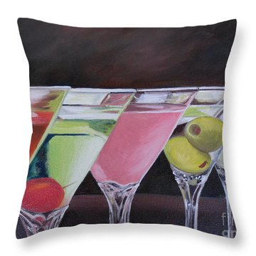Five O'clock Throw Pillow