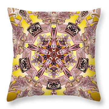 Five Stage Light Throw Pillow by Derek Gedney