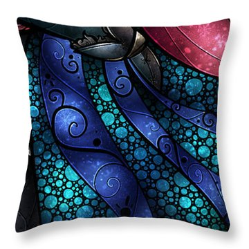 We Found Love In A Frozen Place Throw Pillow