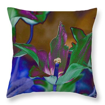 Throw Pillow featuring the photograph Fl3714 by Leo Symon