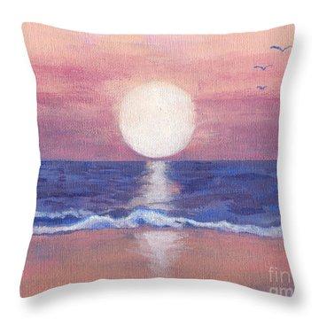 Flagler Beach Dream Throw Pillow