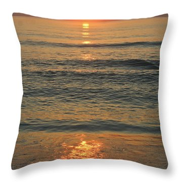 Flagler Beach Sunrise Throw Pillow