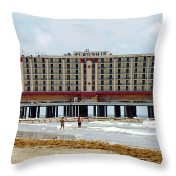 Flagship Throw Pillow