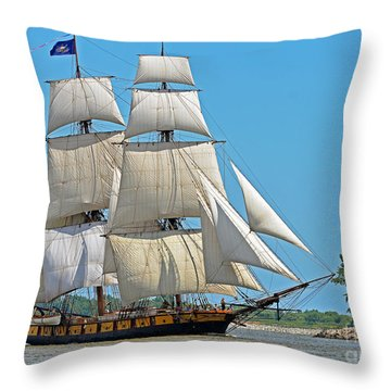 Flagship Niagara Throw Pillow