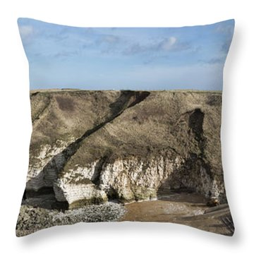 Flamborough North Landing Throw Pillow