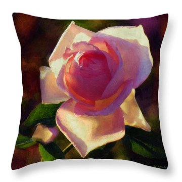 Flamboyant Throw Pillow by RC deWinter
