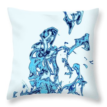 Throw Pillow featuring the photograph Flame V by Carlee Ojeda