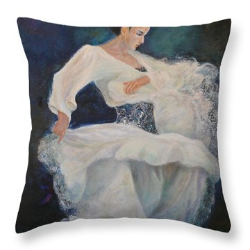 Flamenco 2 Throw Pillow