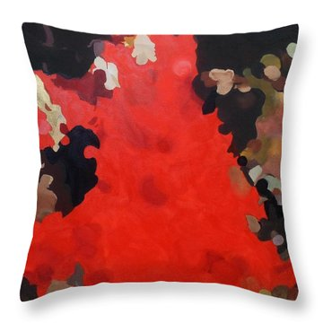 Flamenco Throw Pillow by Cherise Foster