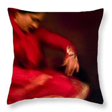 Flamenco Series 1 Throw Pillow