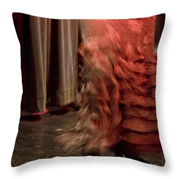 Flamenco Series 13 Throw Pillow