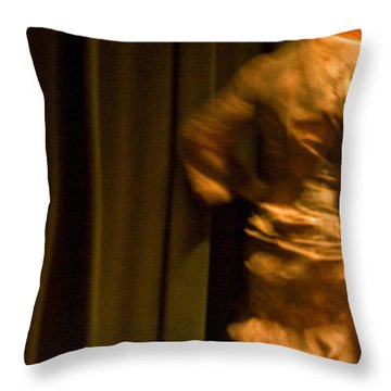 Flamenco Series 14 Throw Pillow
