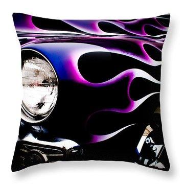 Flaming Classic Throw Pillow by Joann Copeland-Paul