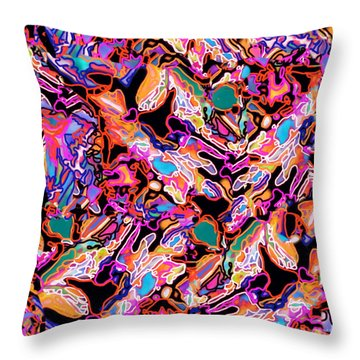 Flash Mob Throw Pillow by Expressionistart studio Priscilla Batzell