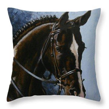 Flash Throw Pillow by Richard De Wolfe
