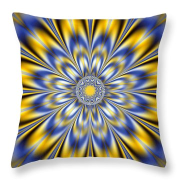 Flashing Star Throw Pillow