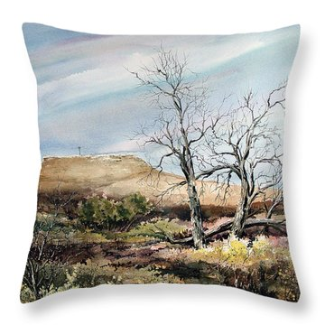 Flat Top Throw Pillow