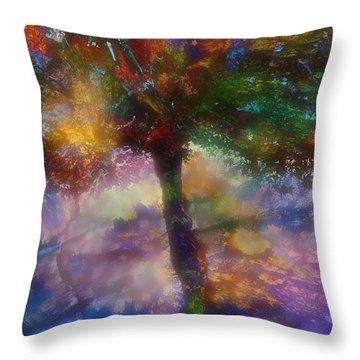 Flavours Of Autumn Throw Pillow