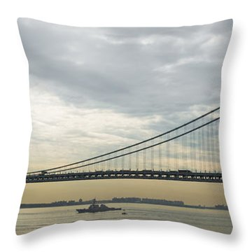 Fleet Week 2014 Nyc Throw Pillow by Kenneth Cole
