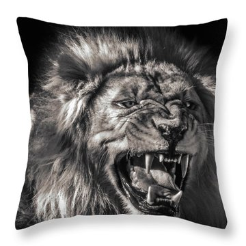 Flehmens Response Throw Pillow