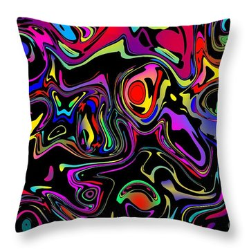 Throw Pillow featuring the photograph Flerb by Mark Blauhoefer