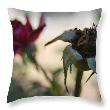 Throw Pillow featuring the photograph Flesh And Bone by Erhan OZBIYIK
