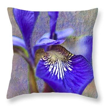 Fleur-de-lys Throw Pillow by Heiko Koehrer-Wagner
