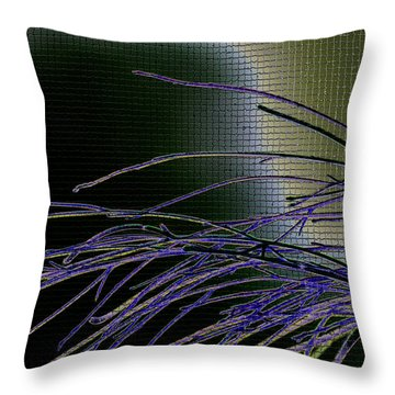 Throw Pillow featuring the photograph Flexio by Martina  Rathgens