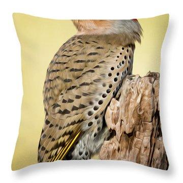 Flicker Throw Pillow