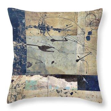 Flight Throw Pillow by Carol Leigh
