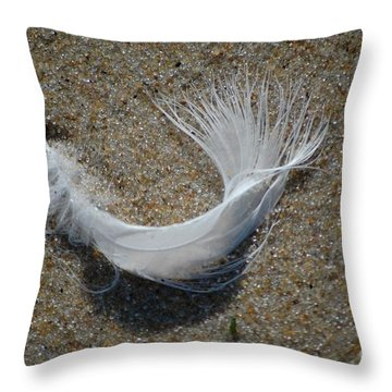 Throw Pillow featuring the photograph Flight by Christiane Hellner-OBrien