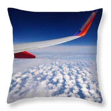 Flight Home Throw Pillow